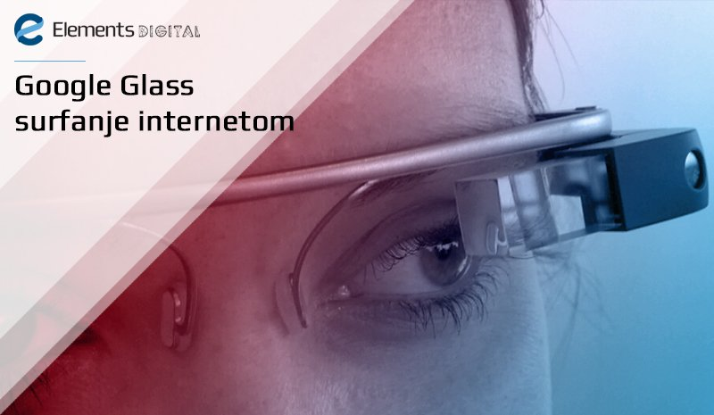 Google Glass surfanje internetom