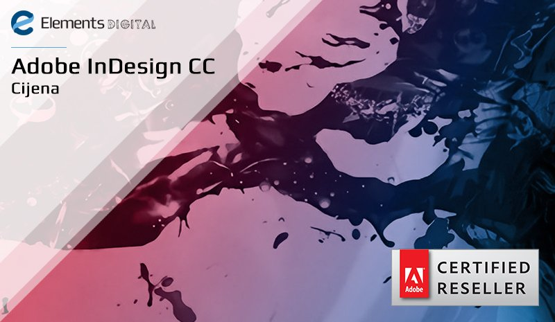 Adobe InDesign CC cijena